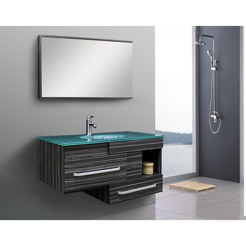 Moderne badezimmermöbel schwarz  Badezimmermöbel